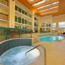 indoor pool area at Econo Lodge Pigeon Forge in TN