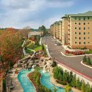 aerial view of Riverstone Resort & Spa in Pigeon Forge, TN