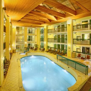 indoor pool at Econo Lodge Pigeon Forge