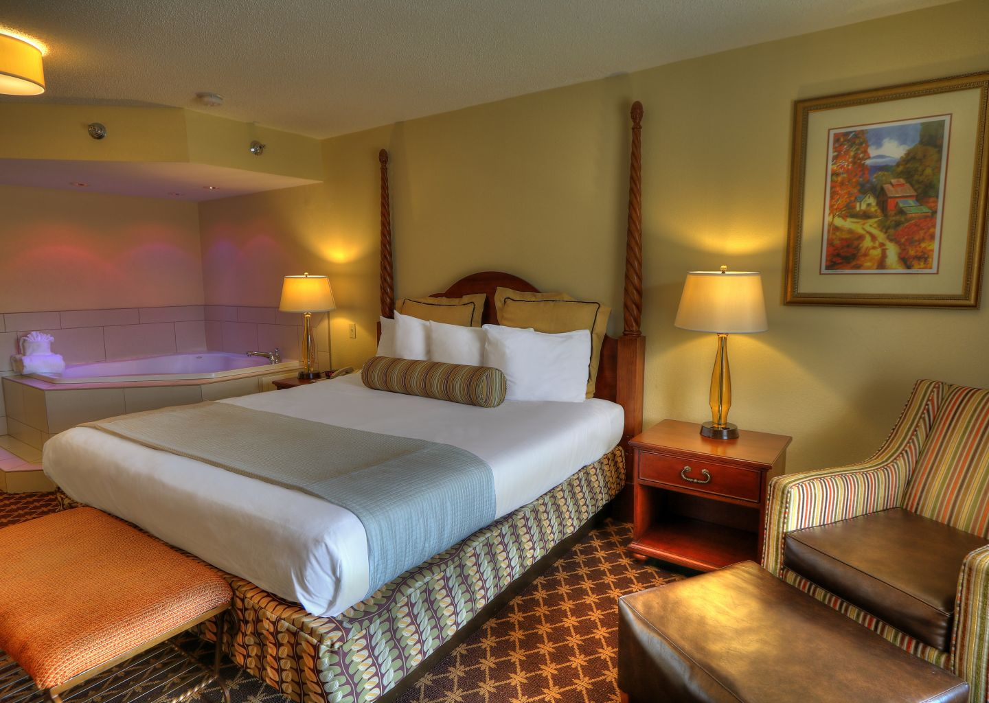 Quality Inn Pigeon Forge - Deluxe King Room